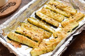 Цукини с сыром в духовке - фото шаг 7