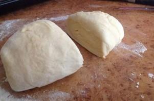 Хачапури из творожного теста с сыром - фото шаг 8