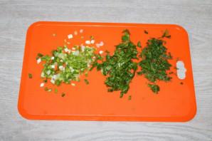 Салат с зелёным болгарским перцем - фото шаг 2