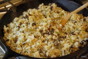 Гарнир из риса и фасоли - фото шаг 5