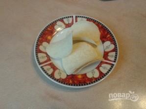 """Закуска на чипсах """"Паштетная"""" - фото шаг 6"""