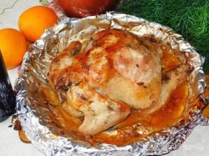 Курица в винно-апельсиновом маринаде с базиликом - фото шаг 4