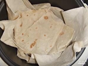 Слоенный пирог из лаваша - фото шаг 8