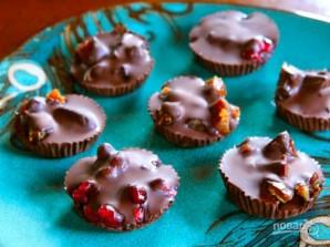 Конфеты из тёмного шоколада - фото шаг 6