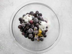 Галета с черникой и сливочным сыром - фото шаг 4