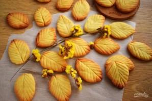 """Печенье """"Весенние листья"""" - фото шаг 5"""