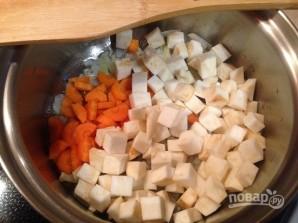 Суп с фасолью и шпинатом - фото шаг 2