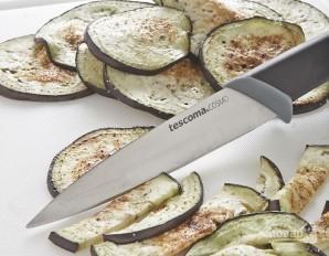 Салат из макарон с нутом и баклажанами - фото шаг 3