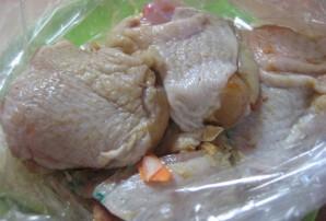 Рис с курицей в рукаве - фото шаг 2