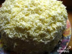 Закусочный блинный торт - фото шаг 6