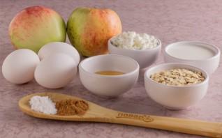 Яблочный пирог ПП - фото шаг 1