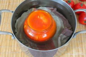 Перец фаршированный морковью на зиму - фото шаг 9