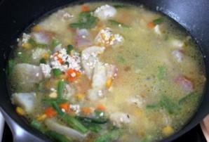 Пангасиус с овощами - фото шаг 4