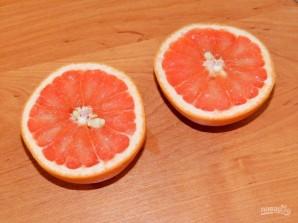 Напиток из грейпфрута с мятой - фото шаг 3