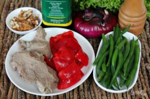 Салат из говядины с фасолью - фото шаг 1