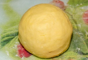 Сметанный пирог из песочного теста - фото шаг 4