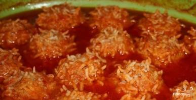 Ежики из индейки с рисом - фото шаг 3