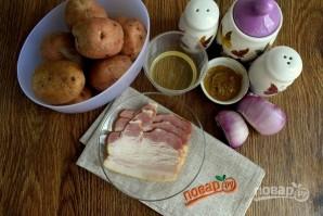 Королевский картофельный салат - фото шаг 1