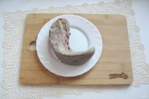 Салат с языком и морковью - фото шаг 4