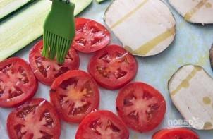 Закуска из печеных овощей с сыром - фото шаг 4
