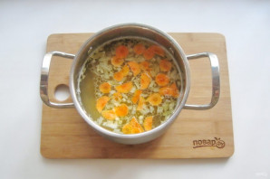 Суп из скумбрии с пшеном - фото шаг 10