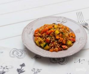 Полба с овощами - фото шаг 4