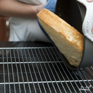 Кокосовый пирог с кремом - фото шаг 9