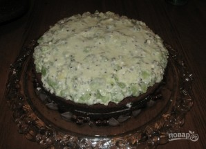 "Торт ""Клубника и шоколад"" - фото шаг 4"