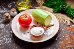 Закуска из помидоров и кабачков - фото шаг 1