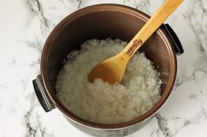 Рисовая каша на воде в мультиварке - фото шаг 4