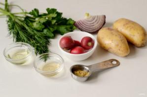 Салат из молодого картофеля - фото шаг 1