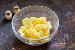 Картошка в банке в духовке - фото шаг 2