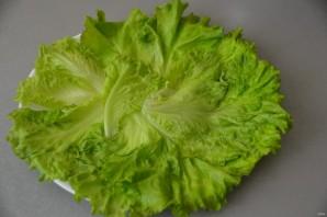 """Салат с горбушей """"Ромашковое поле"""" - фото шаг 8"""
