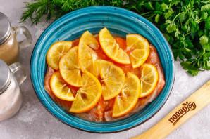 Засолка красной рыбы с лимоном - фото шаг 5