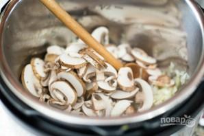 Рис с курицей и грибами в скороварке - фото шаг 3