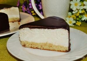 """Классический торт """"Птичье молоко"""" - фото шаг 12"""