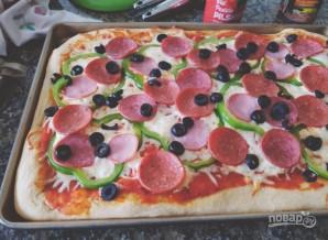 Быстрая и вкусная пицца - фото шаг 3