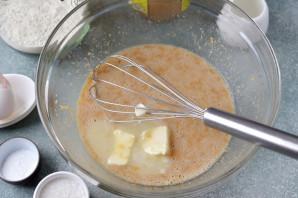 Маффины с арахисовой пастой - фото шаг 4