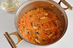 Килька с овощами на зиму - фото шаг 8