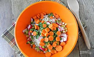 Салат из пшенной каши - фото шаг 2
