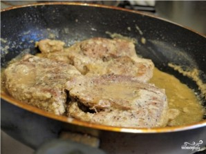 Мясо в чесночном соусе - фото шаг 7