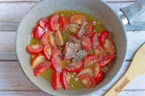 Паста с помидорами и маслинами - фото шаг 3