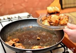 Курица с брокколи и грибами - фото шаг 7