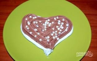 "Тортик  ""Безе в шоколаде""  - фото шаг 7"