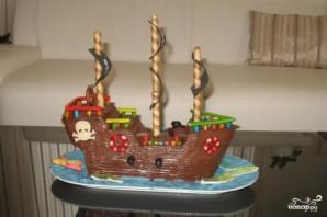 """Торт """"Пират"""" - фото шаг 7"""