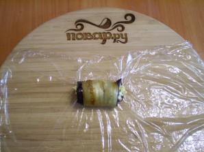 Жареные баклажаны с начинкой - фото шаг 9