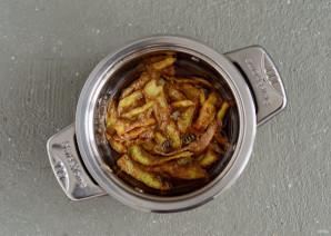 Чипсы из картофельных очисток - фото шаг 4