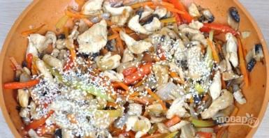 """Лапша """"Удон"""" с курицей и овощами  - фото шаг 6"""