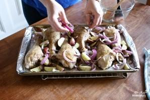 Индейка с картофелем в духовке - фото шаг 10