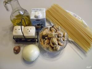 Паста с мидиями в сливочном соусе - фото шаг 1